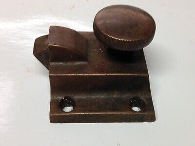 Antique Vintage Bronze Heavy Duty Latch Lock Part