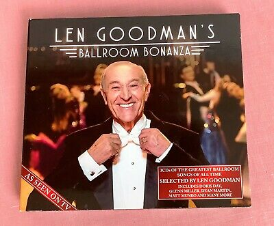 LEN GOODMAN STRICTLY COME DANCING PP 8x10 MOUNTED SIGNED AUTOGRAPH PHOTO