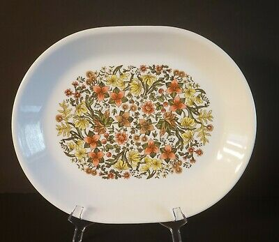 CORELLE by CORNING OVAL SERVING PLATTER in the INDIAN SUMMER PATTERN