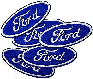 5 LOT FORD Collectible Embroidered Sew/Iron On Patches W/ FREE SHIP