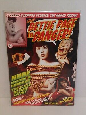 BETTIE PAGE #4 1:50 David Williams Virgin Variant Cover EB20
