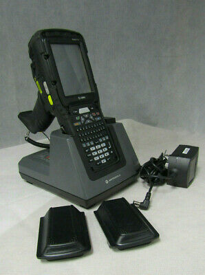 Zebra Omnii XT15 Mobile Computer Scanner Psion 7545MBW w/2Batteries/ Charge Dock