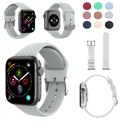 Replacement Woven Silicone Strap for Apple Watch Series 1 2 3 4 5 38mm-42mm UK