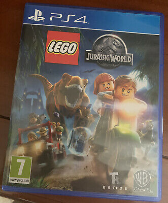Gioco Originale PS4 LEGO JURASSIC WORLD Come Nuovo