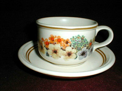 3 Johnson Bros/Brothers Table Plus Floral Cup Saucer Sets_Lot of THREE