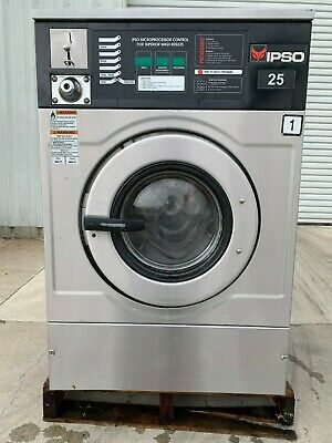 Ipso  Washer Stainless Steel, 25Lb   Iwf025  [Reconditioned] **