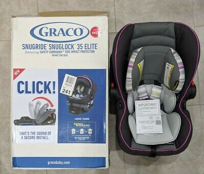 SnugRide SnugLock 35 Elite Safety Surround Technology Car Seats Infant Box Issue