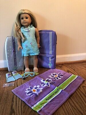 American Girl Doll Kailey GOTY 2003 and Accessories