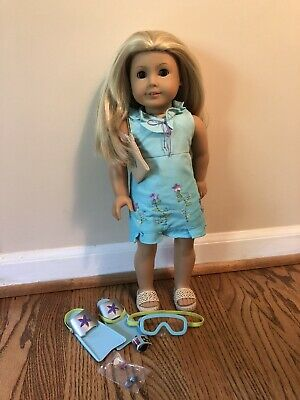 2003 American Girl Doll Kailey Girl of the Year and Accessories