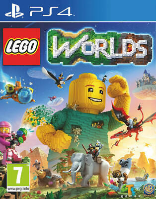 PS4 LEGO Worlds - NUOVO SIGILLATO