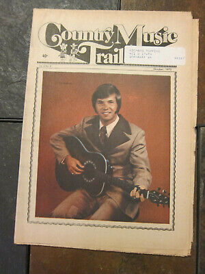 1973 Country Music Trail Paper Pat Roberts Dolly Parton Staatler Kayo Seattle