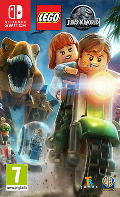 Switch LEGO Jurassic World NUOVO SIGILLATO