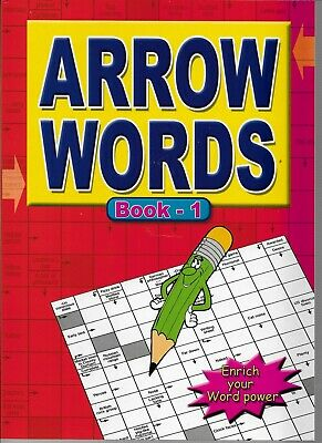 2 Arrow Word Books 67 Puzzles In Each A4 Size This Is Books 1 & 2 Free P/P