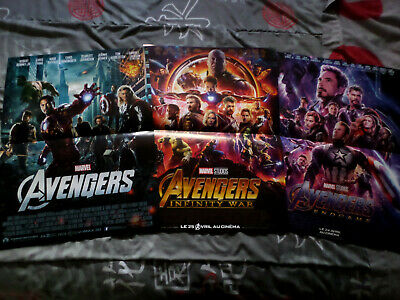 Lot Affiches Cinema / Avengers / Marvel / 40X60