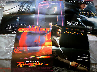 LOT AFFICHES CINEMA / TOM CRUISE / 40X60, cocktail, oblivion...