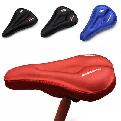 Saddle Cycling Thick Seat Cover Gel Padded Bicycle Seatpost Mountain Bike Parts