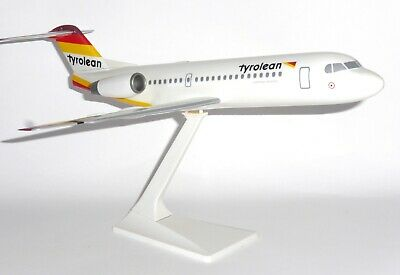 Fokker F-70 Tyrolean Airways Austria Large Collectors Model Scale 1:100 J