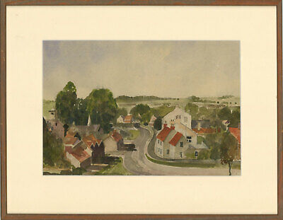 Early 20th Century Watercolour - An English Village