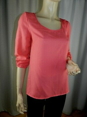 F683 Blouse tunique ONLY  manches 3/4  taille 38