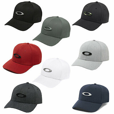 Oakley Tincan Stretch Fit Baseball Cap Baseball Cap 6-Panel Fitted Hat New