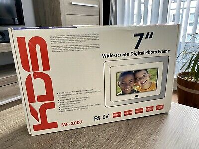 "KDS 7"" Wide-screen Digital Photo Frame MF-2007"