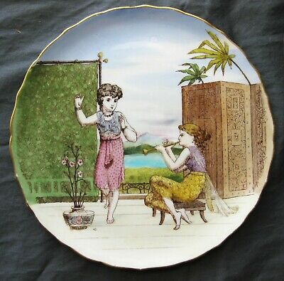 English Victorian Cabinet Plate - Aesthetic Movement - 1870s-80s