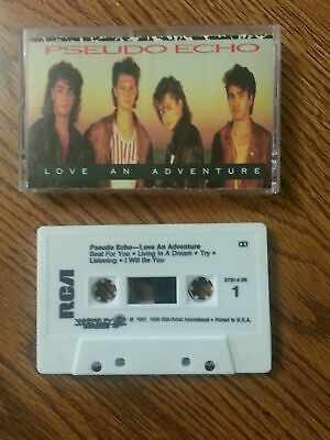 Pseudo Echo CASSETTE TAPE - Love An Adventure