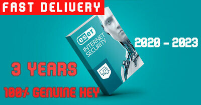 Eset Internet Security 2021 ( 3 Years ) Genuine Key. | Fast Delivery | Full Ver.