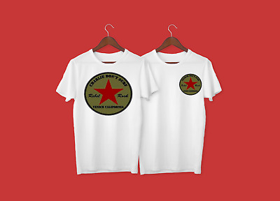 The Clash Bored With USA  screen printed t-shirt punk rock size S-XXL Strummer