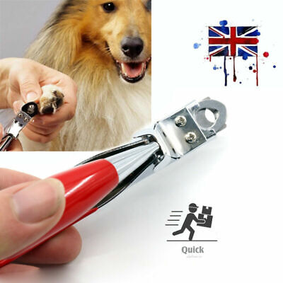 Dog Cat Nail Toe Claw Clippers Scissor Trimmer Shear Cutter Pet Grooming Tool