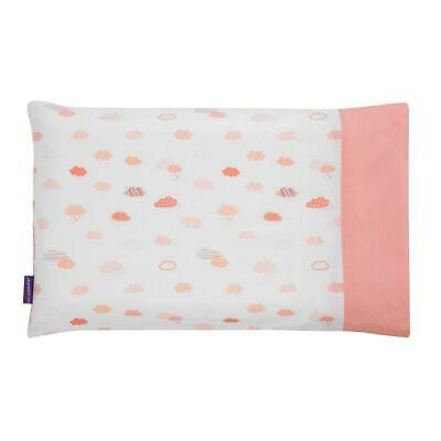 Clevamama Replacement Toddler Pillow Case Cover (Coral) Approx 55x35cm