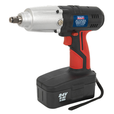 "Sealey 24v Cordless 1/2"" Drive Cordless Impact Wrench Ni-MH Battery CP2400MH (B)"