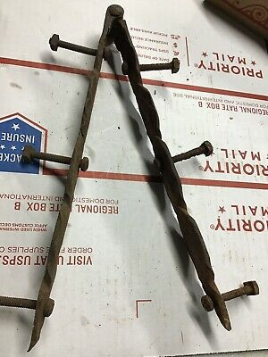 "Old Barn Door hinge shed gate 12"" rustic vintage BRSB3"