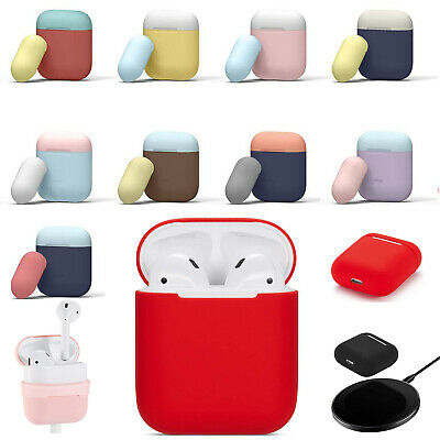 For Apple AirPods 1/2 Case Silicone Protect Cover Skin AirPod DIY Charger Cases