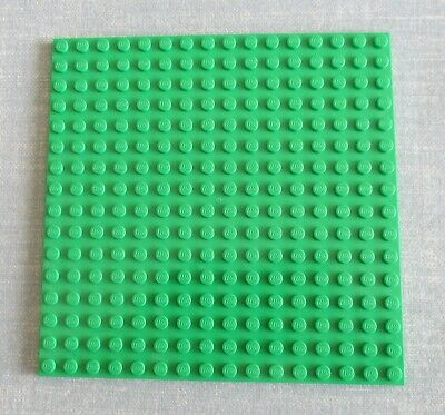 REINFORCED x 1 LEGO PART 91405 BRIGHT GREEN 16 x 16 BASE PLATE