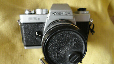 Yashica FR-2, FR-II with Yashica DBS 50mm F1.9 lens.
