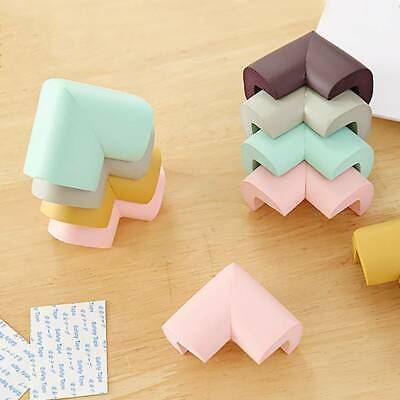 4x Baby Child Safety Soft Table Furniture Cover Corner Edge Cushion Protection