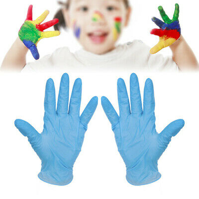 Disposable Gloves Rubber Protective Glove Clean Gloves 100PCS For Children Kids