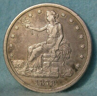 1878-S Trade Dollar * United States Silver Coin