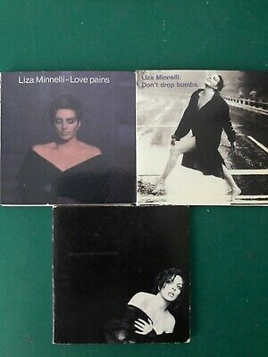 Liza Minelli pet shop boys LOT 3 CDS 3 inch dont drop losing my mind love pains