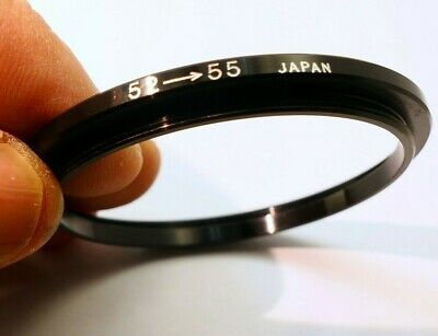 52mm to 55mm Step up lens Ring for filter