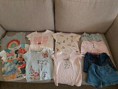 Girls summer Bundle Age 2-3 Years. Next, George,  F And F and Primark