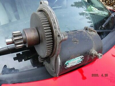 Complete O-200 continental aircraft STARTER with clutch/ gear
