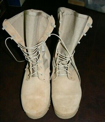 JUMP BOOTS SPEED LACE LEATHER 8 inch MILITARY STYLE ARMY 5-13 Reg /& Wide