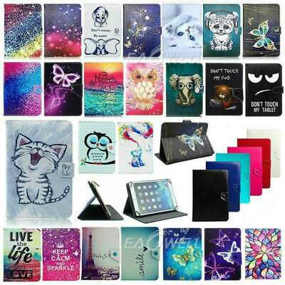 """For Lenovo Tab M7 M8 M10 7"""" 8"""" 10"""" Tablet 2019 Universal PU Leather Case Cover"""