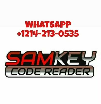 Samkey Code Reader 6 Pack Credits New Account or Refill INSTANT
