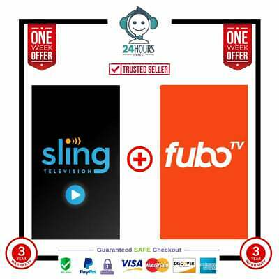 Fubo premuim + Sling oraneg & blue 3 Years Warranty | Fast Delivery Fast support