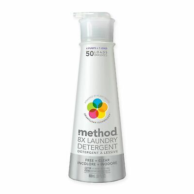Method® 20 oz. 8X Free and Clear Laundry Detergent