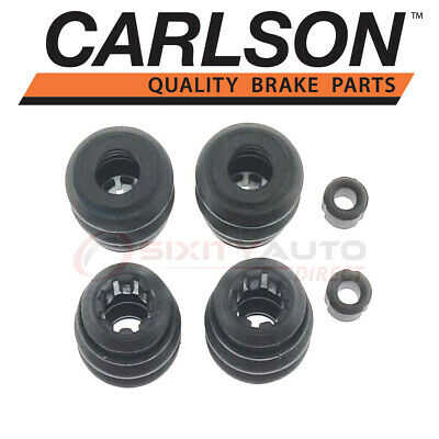 Disc Brake Caliper Guide Pin Boot Kit Front//Rear CARLSON 16019