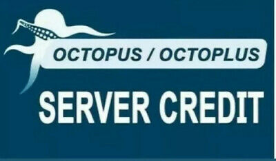 Octoplus Octopus Box server credits (100 credits) New user or Refill